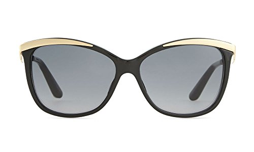 Christian Dior MetalEyes2 Women's Sunglasses Black Gold C7VHD