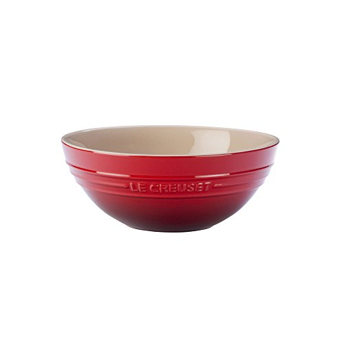 Le Creuset Stoneware Multi Bowl, Large, Cerise (Cherry Red)