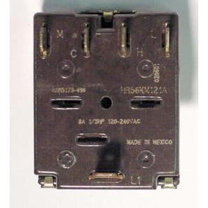 GENERAL ELECTRIC ASR5173-496 5-POSITION ROTARY SWITCH 8 AMP