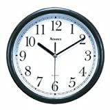"Advance Clock CO. 10"" Wall Clock [Black]"
