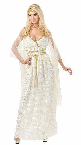 Charades 02178 ((Small)) Grecian Princess Costume Long Sexy Toga -