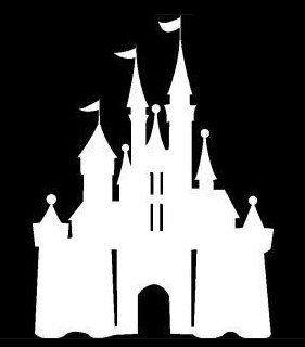 Auto Sticker - Auto Decal - Disney Castle - Disney Character - Auto Window Sticker Decal for Car Truck SUV Motorcycle 5