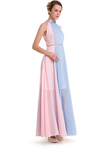 Femme Robe Bild farbe Trapèze Acvip RaExqUqd