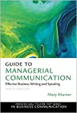 img - for Guide to Managerial Communication 9th (nineth) edition Text Only book / textbook / text book