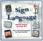 Sign Language, John Baeder, 0810926423