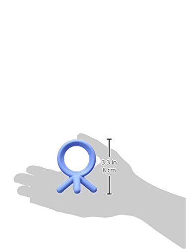 31KXBHjTPCL - Comotomo Silicone Baby Teether, Blue