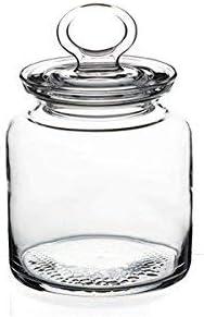 De Cristal 1/pz Pasabahce Tarro Tarro de Cocina con Tapa 0,5Lt