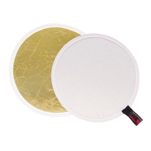 Photoflex Litedisc 12 Circular Collapsable Disc Reflector White//Gold.