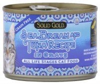 Solid Gold SeaBream & Tuna Recipe Canned Cat Food - 24x 3oz