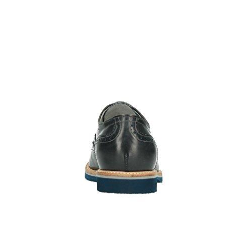 Nero Giardini P800190U, Herren Schnürhalbschuhe Blau Blau