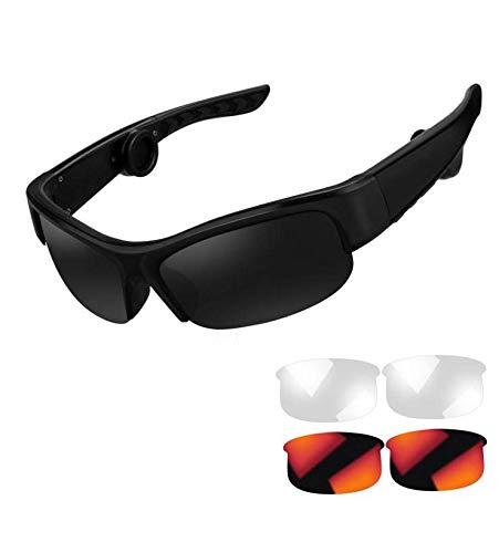 Bone Conduction Headphones Sunglasses Wireless Safety Bluetooth Glasses Pro