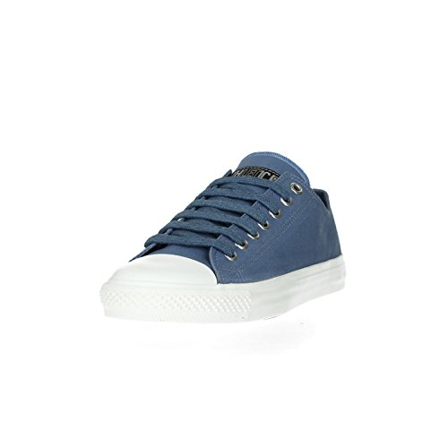 Ethletic Sneaker vegan LoCut Collection 17 - Farbe pale denim / just white aus Bio-Baumwolle