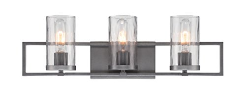 Designers Fountain 86503-CHA Elements 3 Light Bath Bar by Designers Fountain