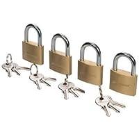 Silverline 675152 - Candados con una sola llave