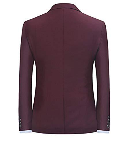 Jacket Vin Rouge Veste Blouson De Homme Blazer Costume gx7BqS