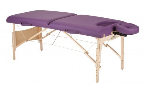Stronglite Figure Fit Portable Massage Table Package - Unique Comfort Cut-Out for Extra Breast Support (Table Package Agate)
