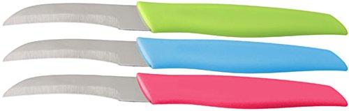 farblich Sortiert NIROSTA 43206 Sch/älmesser 17 x 1.7 x 0.6 cm Edelstahl