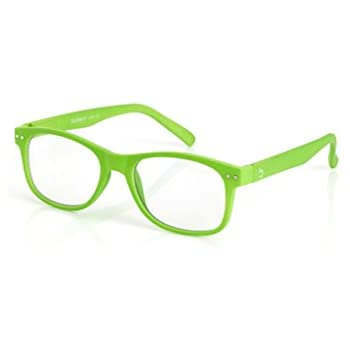 3535bbf0682e Blueberry - Computer Glasses - Size L - Unisex - Green - Blue Light  Blocking Eyeglasses - Digital Screen Glasses - Reduce Eyestrain and Eye  Fatigue - Clear ...