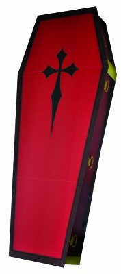 3D Coffin - Advanced Graphics Life Size Cardboard Standup for $<!--$84.99-->