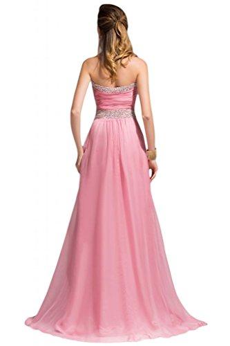 linea per formale Sweetheart della Sunvary Beidesmaid abito strass da donna Viola sera Chiffon vHqw5pnIB