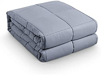 BEASEN Premium Cotton Weighted Blanket With Polyester Padding