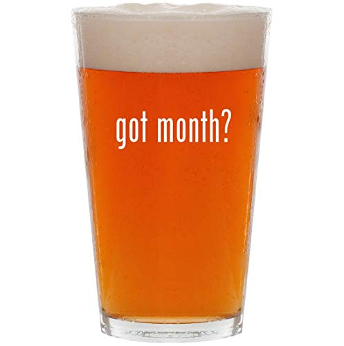 (got month? - 16oz Pint Beer Glass)