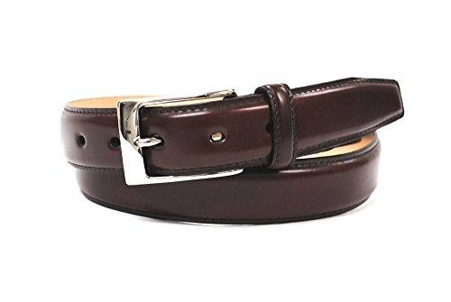 Bell la bell Men's Cordovan Belt Business Belt Adjustable Length M Brown by Bell la bell