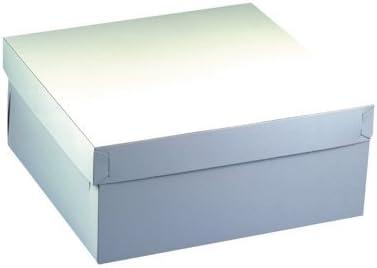 PAPSTAR GmbH 18857-10 Cajas de cartón cuadradas para Tartas con ...