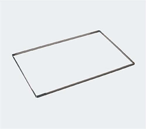 De Buyer St.Steel frame for biscuit ''Charlotte'' and decorating cream 570 x 370 mmx10mm (frame only)