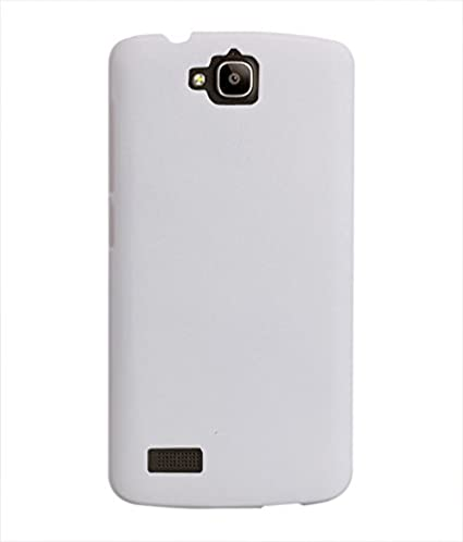 new arrivals 7d0d5 8dc4b COVERNEW Back Cover for Huawei Honor Holly U19 - White 1HPBackHolly U19  White