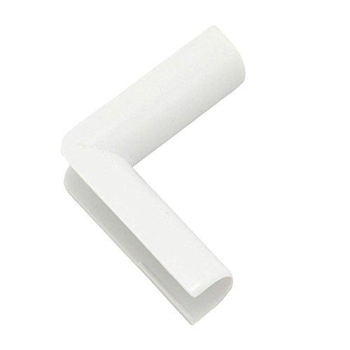 Legrand - Wiremold C17 Plastic Inside Elbow Cord Cover, White
