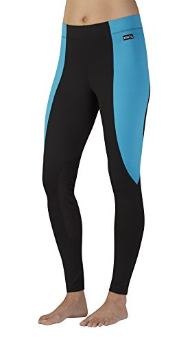 Kerrits Performance Tight Flow Rise Marina/Black Size: Medium