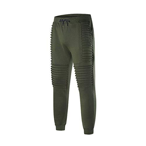 Marca Uomo Libero Sportivi Grün Fitness Da Di Pantaloni Estivi Coulisse Righe Mode A Per Il Con Moda E Tempo q5gaaUz