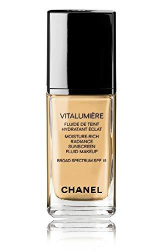 VITALUMIÈRE Moisture-Rich Radiance Sunscreen Fluid Makeup Broad Spectrum SPF 15 Color: 40 Beige
