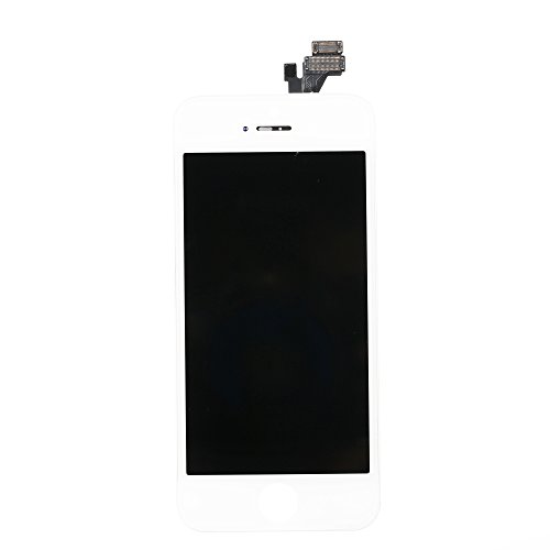 White Brinonac Screen Replacement for iPhone 8 4.7 inch LCD Digitizer Touch Screen LCD Replacement Screen Frame Assembly Full Set with Tools and Screen Protector