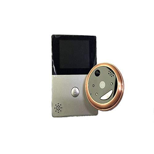 Phone Detector Mobile - RHX Smart Electronic cat Eye WiFi Wireless Video doorbell Mobile Phone Remote HD Mobile APP intercom,HD Sensor Two-Way Talk WiFi-Connected Doorbell