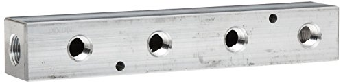 300 Manifold Bar (Dixon AMF32 Aluminum Air Fitting, Bar Manifold, 1/4