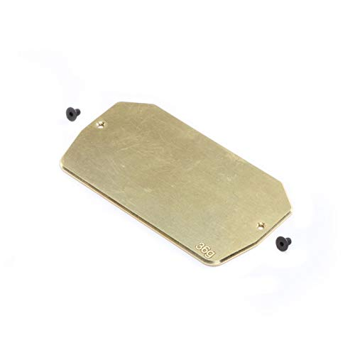 Team Losi Racing Brass Electronics Mounting Plate, 34g: 22 5.0, TLR331039 (Losi Team Plate Chassis)