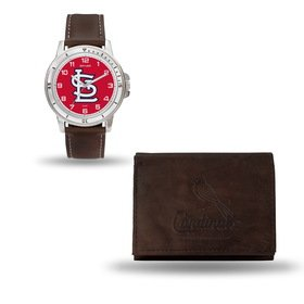 Louis Cardinals Mans Leather - 7
