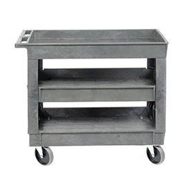 3 Shelf Tray Shelf (Plastic 3 Shelf Tray Service & Utility Cart 5