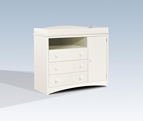 (South Shore Peekaboo Changing Table in Pure)
