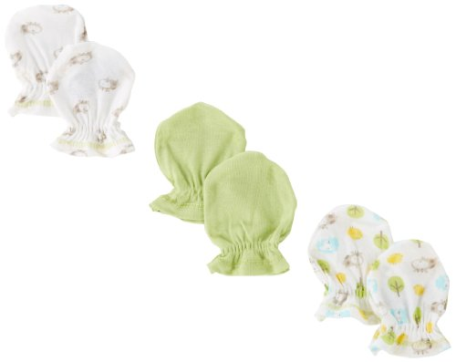 Gerber Unisex Baby Newborn Hippo Mitten
