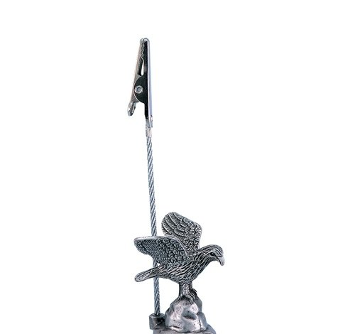 PEWTER EAGLE MEMO CLIP, Case of 144