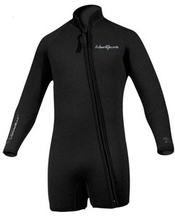 NeoSport Men's Premium Neoprene 3mm Waterman Wetsuit Jacket, ()