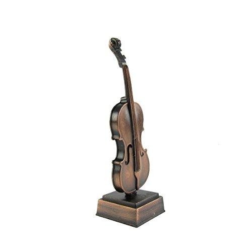 Miniature Violin Instrument Metal Pencil Sharpener Desk ...