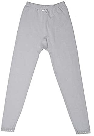 Mark-On Grey Slim Fit Leggings Pant For Girls