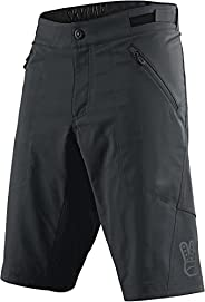 Troy Lee Designs Skyline No Liner Solid Men's Off-Road BMX Cycling Shorts - Iron