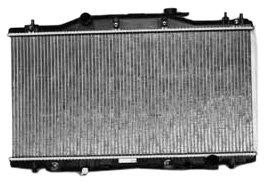 TYC 2412 Acura RSX 1-Row Plastic Aluminum Replacement Radiator