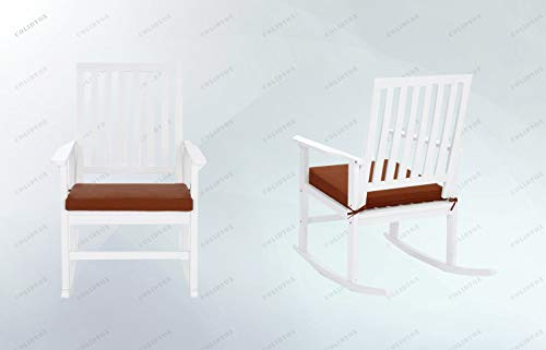 COLIDYOX_Daily Relaxation,Old-Fashioned Rocking Chair,Clean Lines and Classic Wood Composition,Durability and a Contemporary Style,Blissful Lounging Experience,Polyurethane Foam