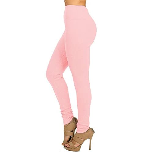 Top Cute Stretchy Mauve Women's High Waisted Pull On Slim Skinny Stretch Pants 10981W supplier